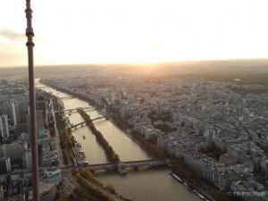 Zalazak sunca nad Parizom