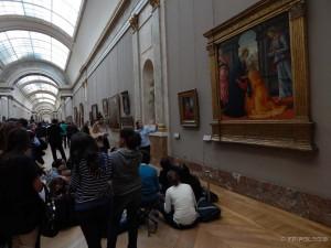 Louvre, razgovor o slikama i umjetnosti