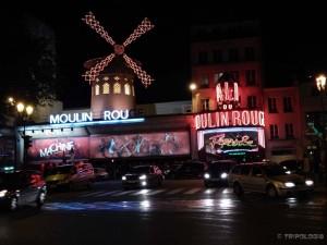 Moulin Rouge, vjetrenjača i neonska svjetla