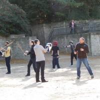 Škola mačevanja u Arènes de Lutèce