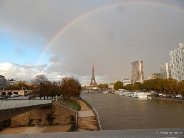 Duga iznad Pariza