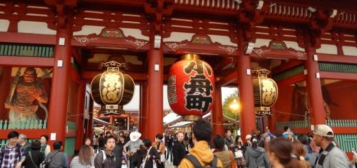 Tokio - Kaminarimon (Thunder Gate), Senso-ji Temple