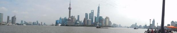Panorama Šangaja, Huangpu rijeka i Pudong