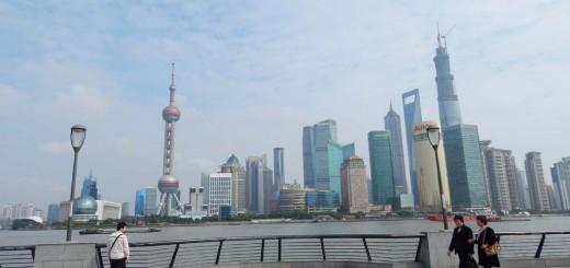 Šangaj - pogled na Pudong novi dio grada