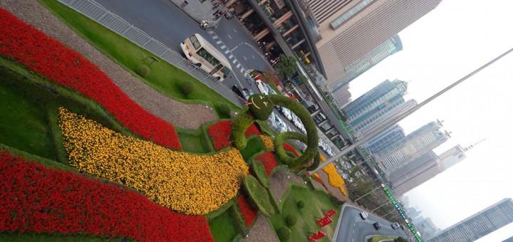 Pudong, u srcu Century avenije
