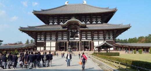 Nara - Tōdai-ji 東大寺, najveća drvena građevina na svijetu i dom najvećem brončanom Budi