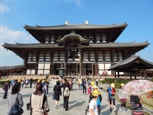 Nara,  Todaiji hram - najveća drvena građevina na svijetu