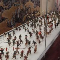 Osaka Castle, maketa bitke u muzeju