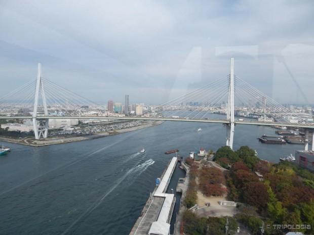 Luka Osake, Tempozan Giant Ferris Wheel, pogled sa vrha