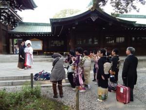 Shinto vjenčanje u Meiji Jingu hramu