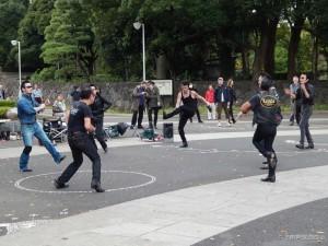 Yoyogi park, grupa Elvisa u rock'n'roll zanosu
