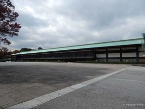 Tokyo Imperial Palace, glavna zgrada ispred koje se car obraća građanima dva puta godišnje