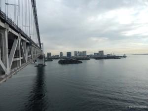 Pogled sa Rainbow mosta na otok Odaibu