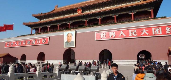 Peking, ulazak u Zabranjeni grad i ogromna slika Meo Zedonga