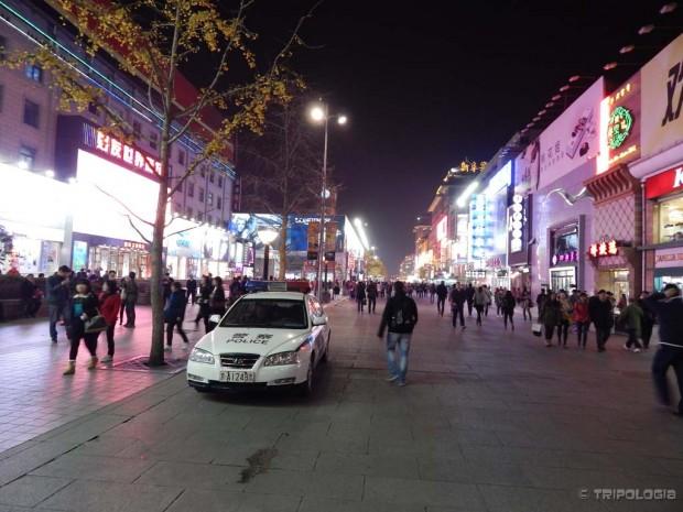 Wangfujing, najprometnija pješačka i shoping ulica u gradu