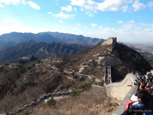 Badaling, prelijepi pogled, planine, Zid i gužve