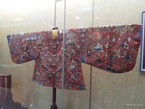 Carska odjeća u muzeju Dingling grobnice