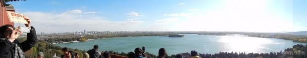 Pogled na Kunming jezero i Peking sa Longevity brda