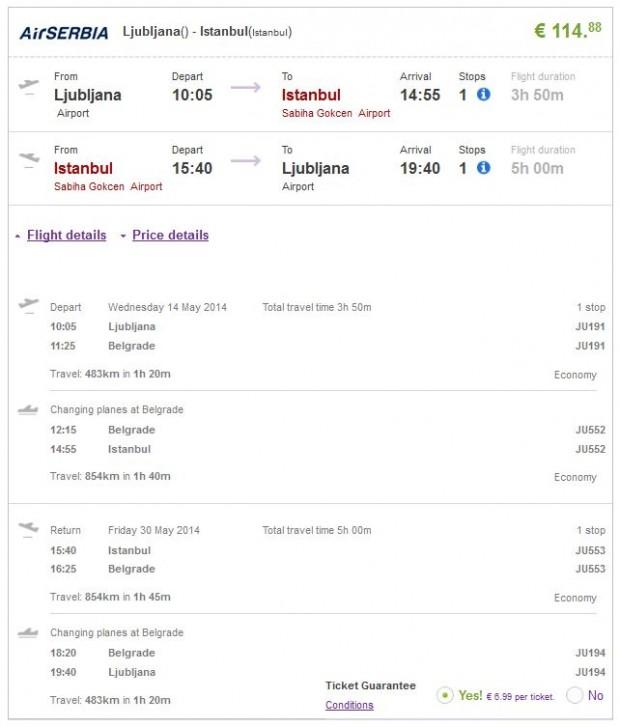 Ljubljana >> Istanbul >> Ljubljana