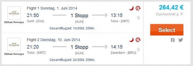 Ženeva >> Tokyo >> Brisel