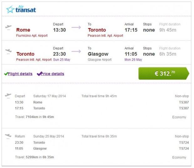 Rim >> Toronto >> Glasgow