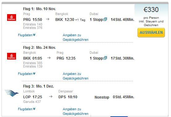 Prag >> Bangkok >> Prag