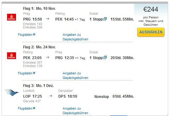 Prag >> Peking >> Prag