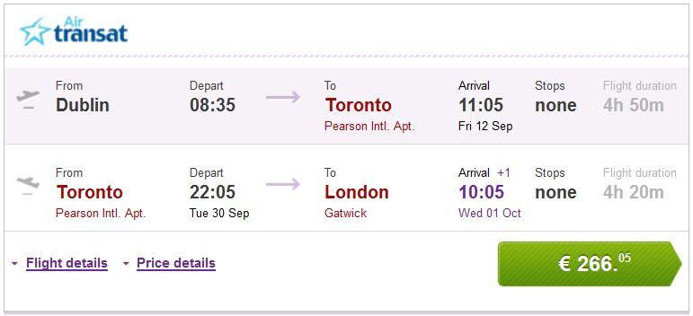 Update Jeftine Avio Karte Za Kanadu Toronto Ili Montreal Vec Od 266 Tripologia
