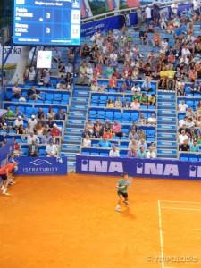 Borna Ćorić u četvrtfinalu protiv Fabia Fogninija
