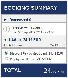 Trst >> Trapani