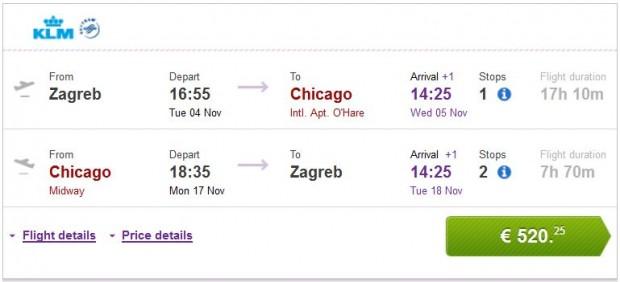 Zagreb >> Chicago >> Zagreb