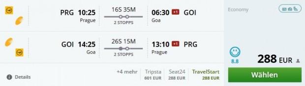 Prag >> Goa >> Prag