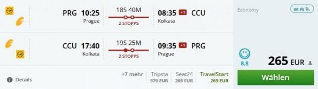 Prag >> Kolkata >> Prag