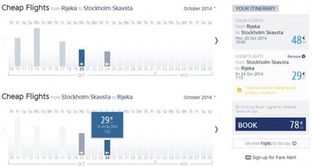 Rijeka >> Stockholm >> Rijeka
