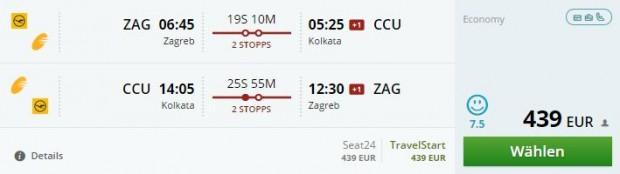 Zagreb >> Kolkata >> Zagreb