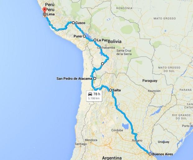 Naša južnoamerička turneja
