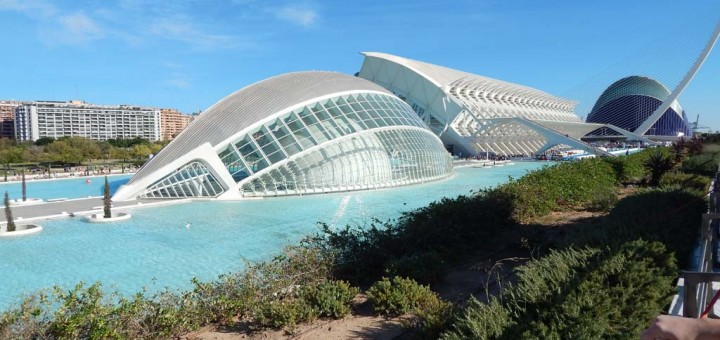 City of Arts and Sciences - futurizam na djelu