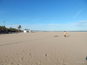 Beskrajna plaža - Playa la Malvarrosa