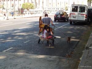 Kako prevesti obitelj, rješenje na argentinski način