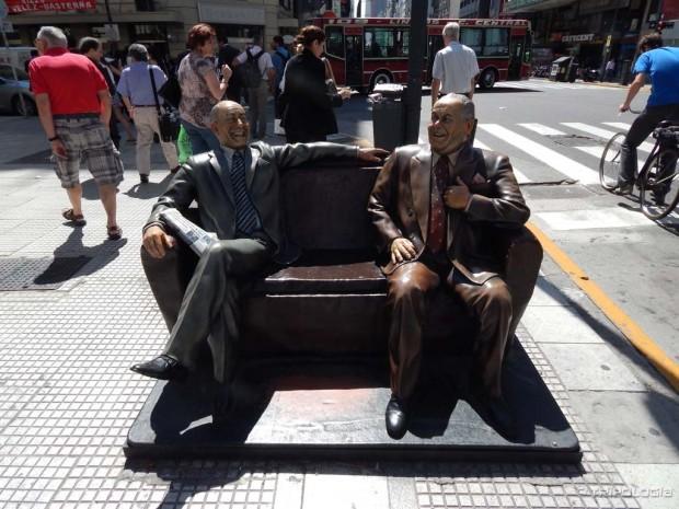 Neki drugačiji spomenici - Avenida Corrientes