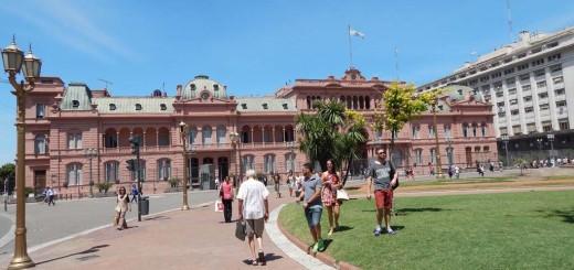 Casa Rosada - nekadašnja predsjednička palača i vjerovatno najpoznatija atrakcija Buenos Airesa