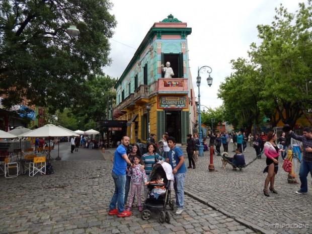 Caminito - živopisna ulica La Boce, ujedno i glavno mjesto za slikanja