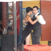 Profesionalni plesači tanga