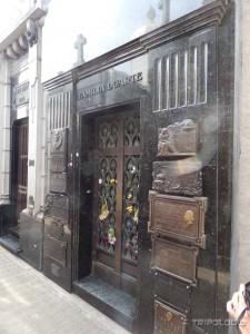 Obiteljska grobnica Duarte, mjesto gdje je pokopana Evita