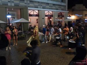 Parada na glavnom trgu Salte...