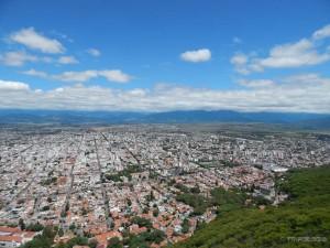 Pogled na Saltu sa gradskog brda San Bernardo