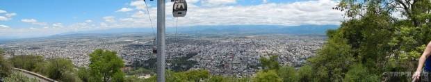 Salta na dlanu - pogled sa brda San Bernardo