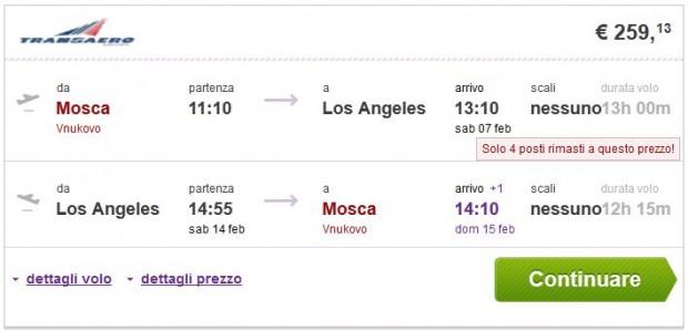 Moskva >> Los Angeles >> Moskva