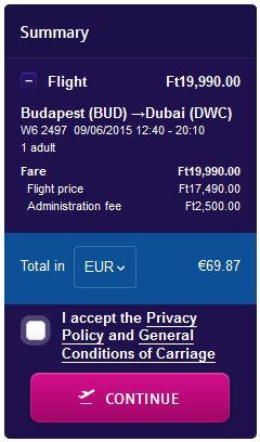 Budimpešta >> Dubai