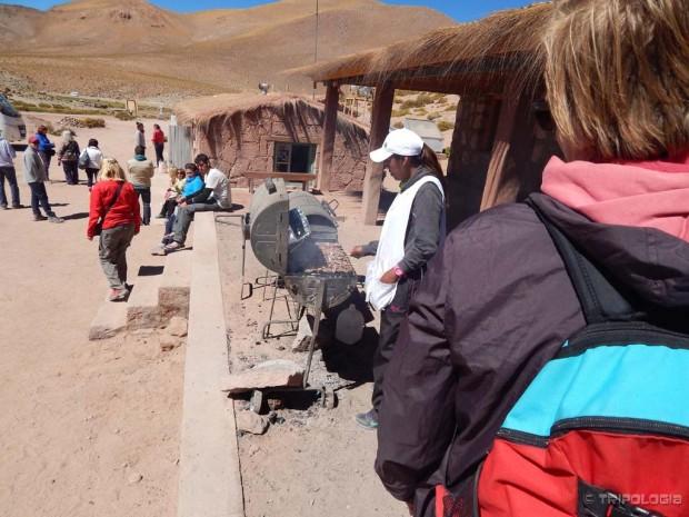 Selo Machuca, sprema se lametina na roštilju